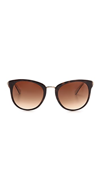 M Missoni Oval Lens Sunglasses
