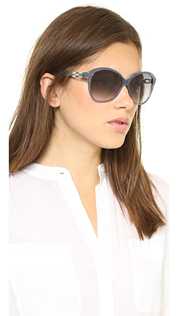 M Missoni Oversized Glam Sunglasses