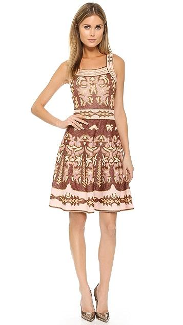 M Missoni Embroidery Jacquard Dress