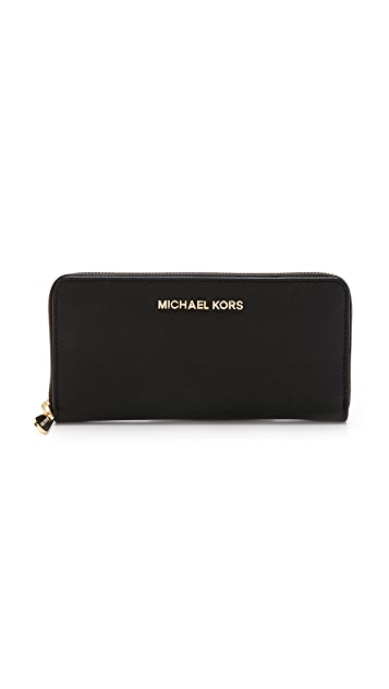 72d7dddb4660c1 MICHAEL Michael Kors Jet Set Zip Around Continental Wallet | SHOPBOP