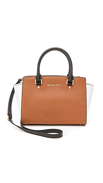 116a06358619 MICHAEL Michael Kors Selma Medium Satchel | SHOPBOP