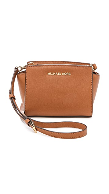 d0124e7f1bb4e5 MICHAEL Michael Kors Selma Mini Messenger Bag | SHOPBOP