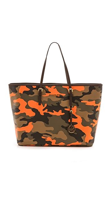 MICHAEL Michael Kors Printed Medium Travel Tote