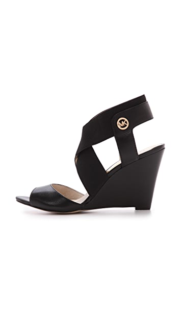 MICHAEL Michael Kors Meadow Wedge Elastic Sandals