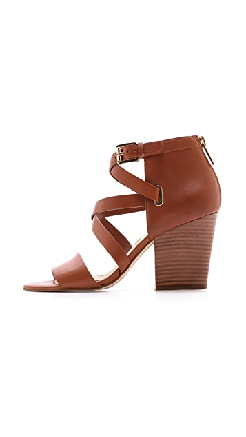 MICHAEL Michael Kors Theodore Cross Strap Sandals