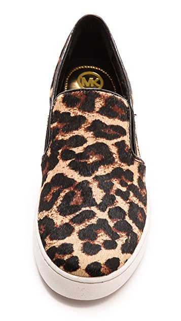 MICHAEL Michael Kors Keaton Haircalf Slip On Sneakers