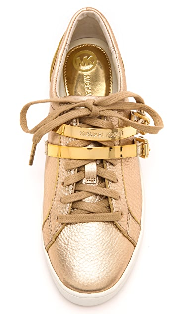 MICHAEL Michael Kors Kimberly Metallic Sneakers