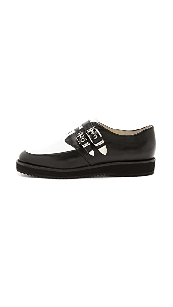MICHAEL Michael Kors Cassie Two Tone Creepers