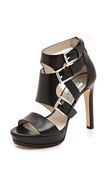 db7331ed518d2 MICHAEL Michael Kors Lucinda Back Zip Sandals