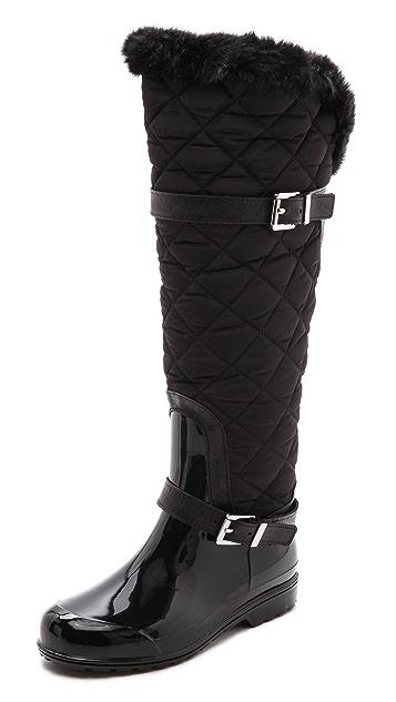 MICHAEL Michael Kors Fulton Quilted Rain Boots | SHOPBOP ...