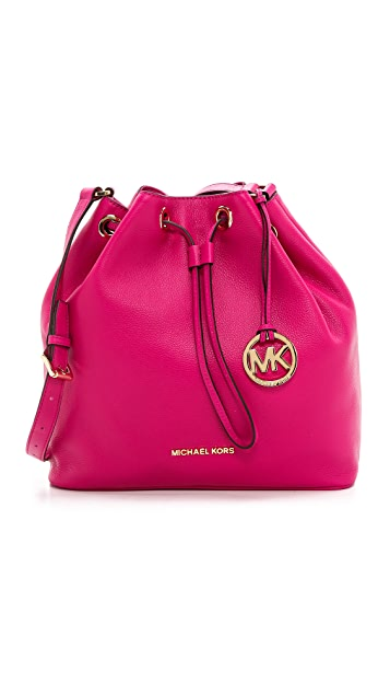 c3da46278406 MICHAEL Michael Kors Jules Large Drawstring Bucket Bag