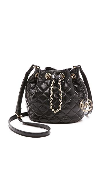 9cb8bd9150c5 MICHAEL Michael Kors Frankie Quilted Small Bucket Bag | SHOPBOP