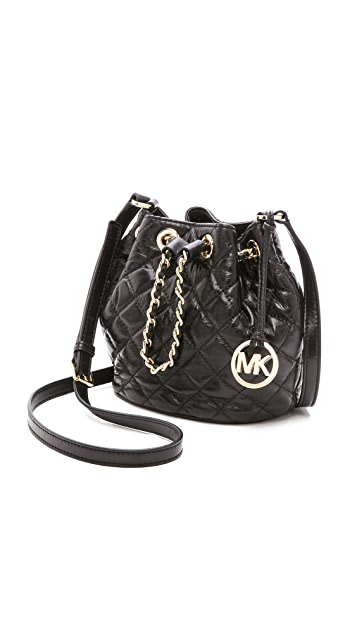 MICHAEL Michael Kors Frankie Quilted Small Bucket Bag