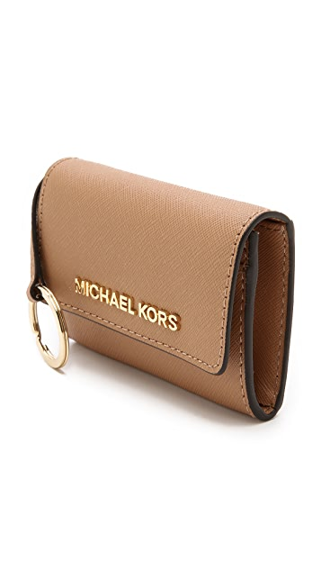 8bb997444b6cd ... MICHAEL Michael Kors Jet Set Travel Coin Purse ...