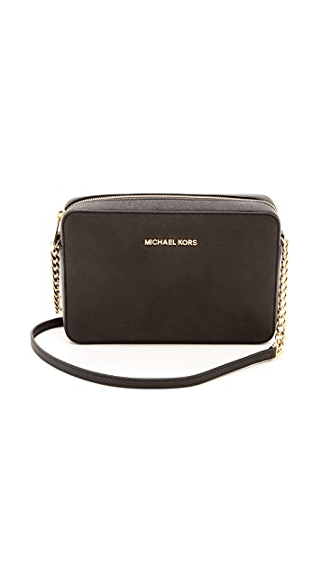 591f4368c10f MICHAEL Michael Kors Jet Set Cross Body Bag | SHOPBOP