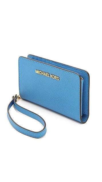 MICHAEL Michael Kors Jet Set Tech Wallet