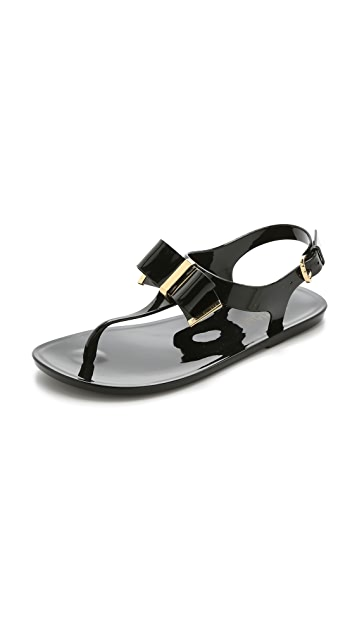 fa8229eb9 MICHAEL Michael Kors Kayden Jelly Thong Sandals