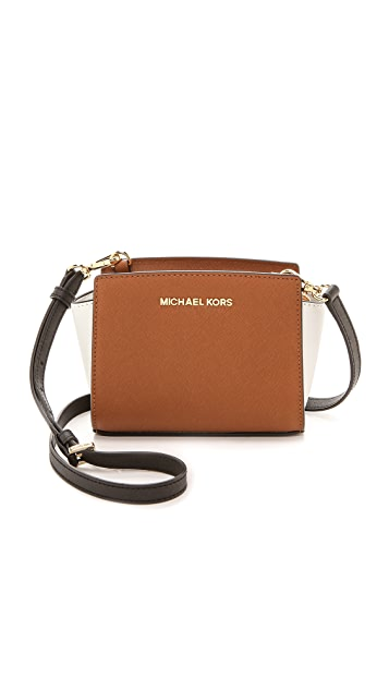 f7789ba50163 MICHAEL Michael Kors Colorblock Selma Mini Messenger Bag