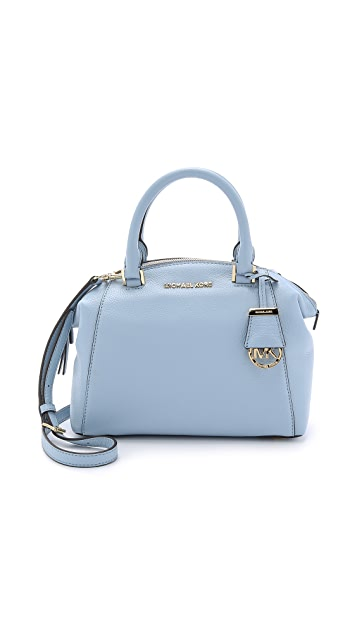 7627c0fac078 MICHAEL Michael Kors Riley Small Satchel