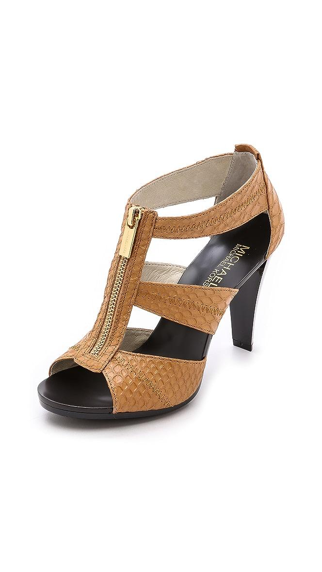 c575e5e57607 MICHAEL Michael Kors Berkley T Strap Sandals