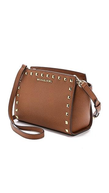 MICHAEL Michael Kors Selma Stud Messenger Bag