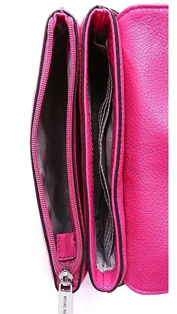 MICHAEL Michael Kors Bedford Double Gusset Cross Body Bag