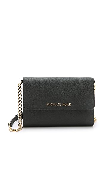 261d60a2a61d MICHAEL Michael Kors Jet Set Large Phone Cross Body Bag | SHOPBOP