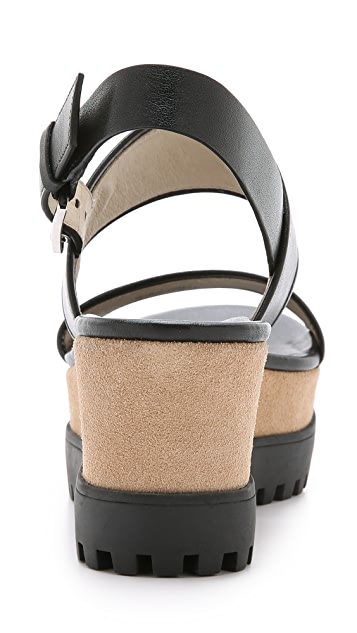 MICHAEL Michael Kors Gillian Mid Wedges