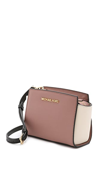 7252147fba4d ... MICHAEL Michael Kors Bicolor Selma Mini Messenger Bag ...