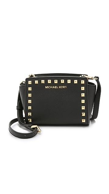 3235777bcdae4a MICHAEL Michael Kors Selma Stud Mini Messenger Bag | SHOPBOP