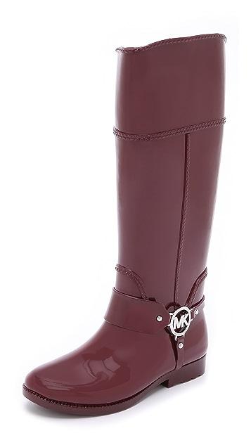 MICHAEL Michael Kors Fulton Tall Harness Rain Boots