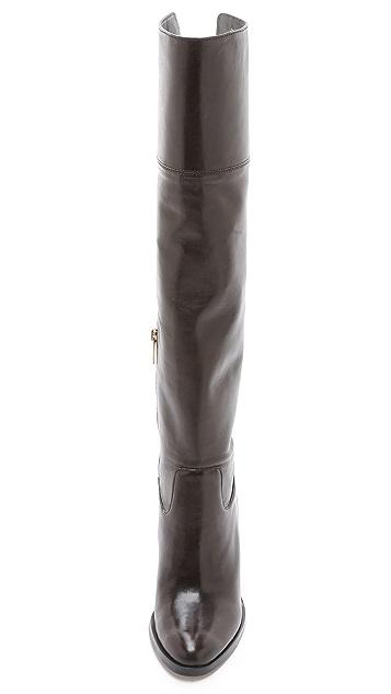 b37f2ee624d6 Regina Tall Zip Boots