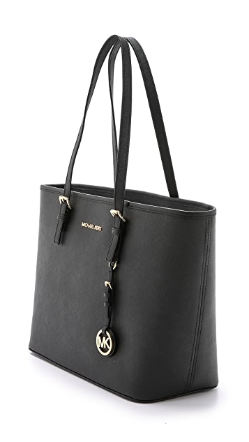 MICHAEL Michael Kors Jet Set Zip Top Tote