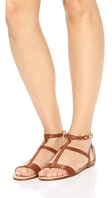 MICHAEL Michael Kors Bria Flat Sandals