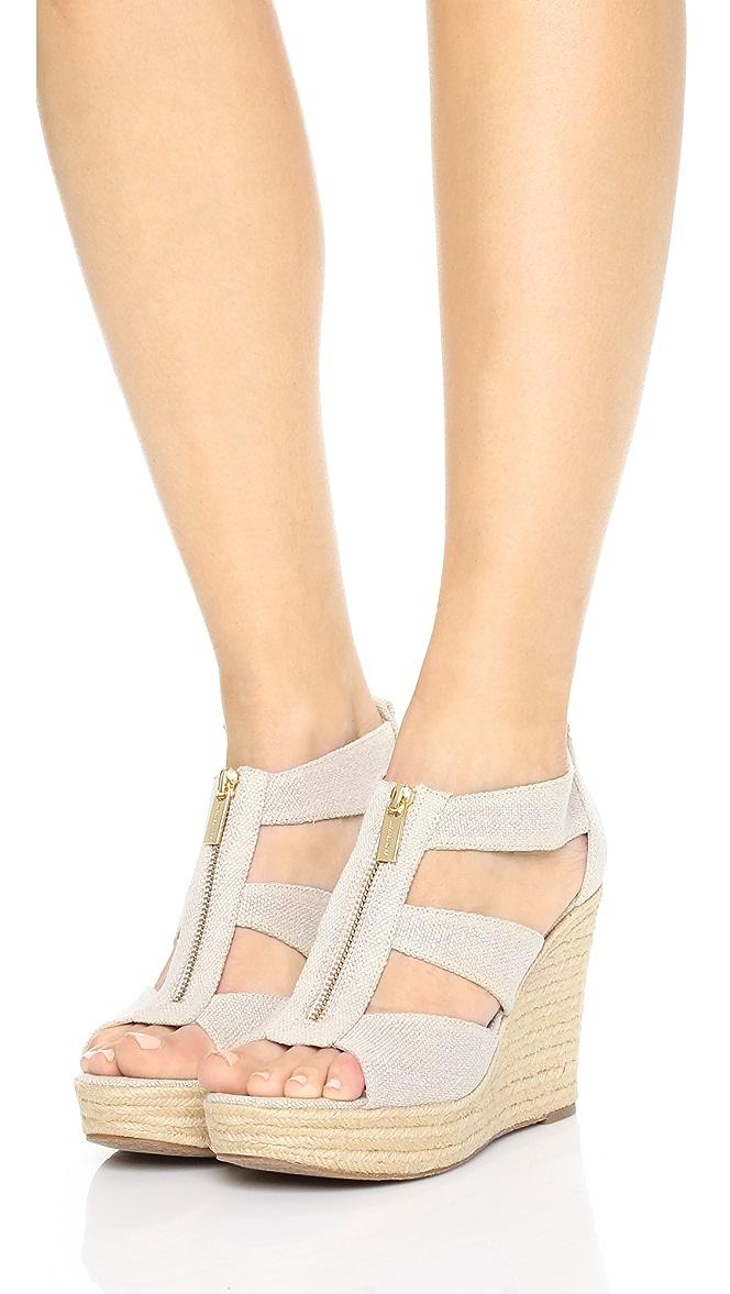 8b10d9acd2c MICHAEL Michael Kors Damita Wedge Sandals | SHOPBOP
