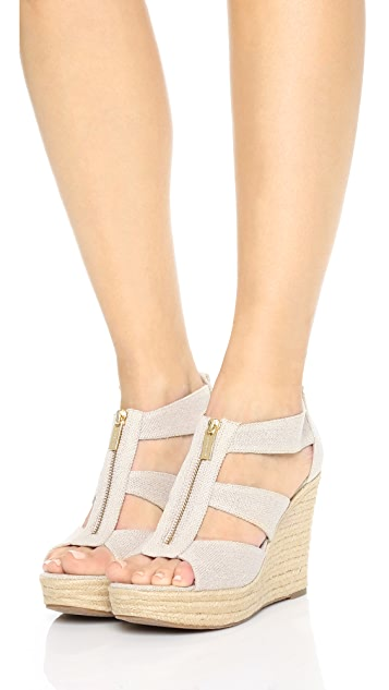 d76c5a2e3ac5 MICHAEL Michael Kors Damita Wedge Sandals MICHAEL Michael Kors Damita Wedge  Sandals ...