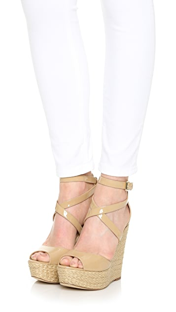 1a1a3056281 ... MICHAEL Michael Kors Gabriella Wedge Sandals ...