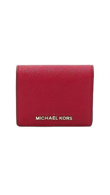 482983a5f75c MICHAEL Michael Kors Jet Set Bifold Wallet | SHOPBOP