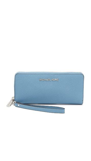 c10ba3660922 MICHAEL Michael Kors Jet Set Travel Continental Wallet   SHOPBOP