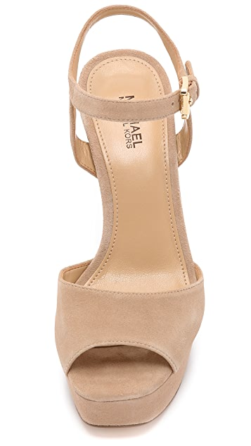MICHAEL Michael Kors Trish Suede Sandals