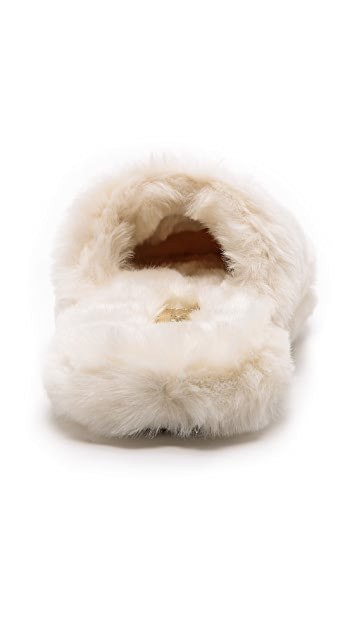 b9bb2edceaed ... MICHAEL Michael Kors Jet Set Faux Fur Slippers