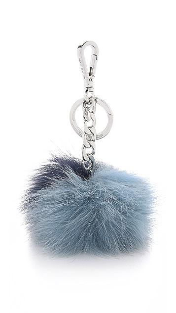 MICHAEL Michael Kors Fur Pom Pom Bag Charm