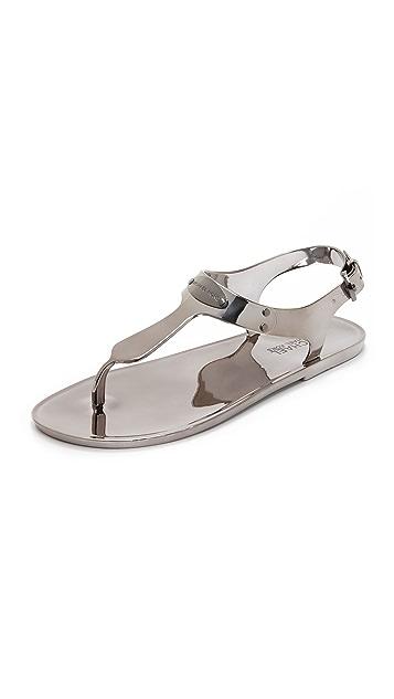 0ca0814094b8 MICHAEL Michael Kors MK Plate Jelly Sandals
