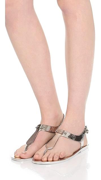 114a38fe5b8 ... MICHAEL Michael Kors MK Plate Jelly Sandals ...