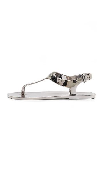 MICHAEL Michael Kors MK Plate Jelly Sandals