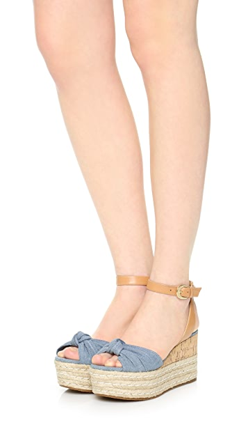 MICHAEL Michael Kors Maxwell Wedge Sandals