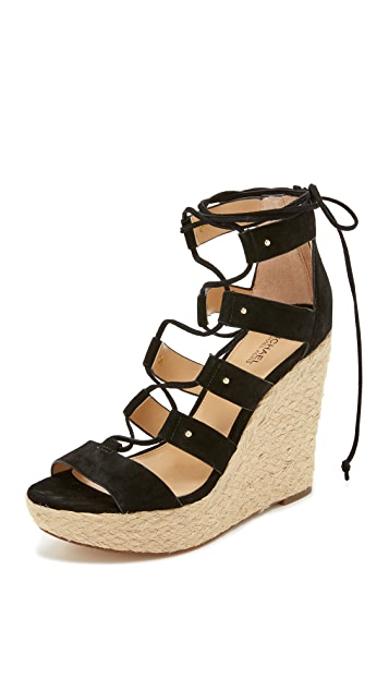 c51d3568a225 MICHAEL Michael Kors Sofia Wedge Sandals