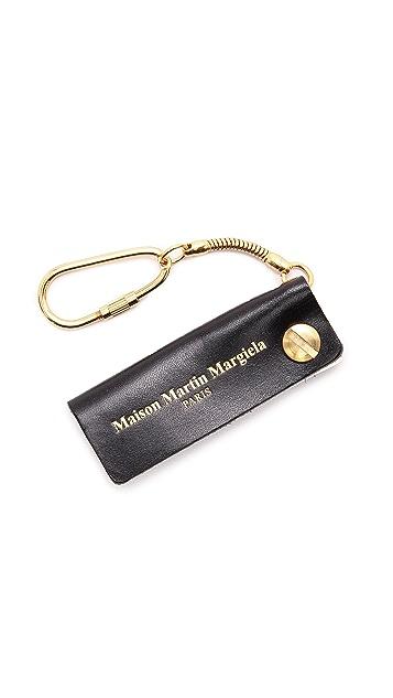 Maison Margiela Address Book Key Ring