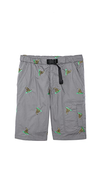 Mark McNairy New Amsterdam Snake Expo Shorts