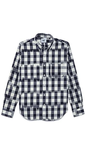 Mark McNairy New Amsterdam Long Sleeve Collar Shirt